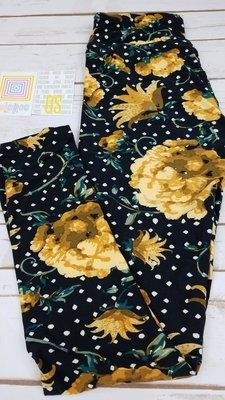 One Size (OS) Polka Dots LuLaRoe Buttery Soft Leggings