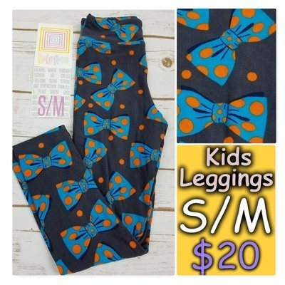 Leggings Kids Small-Medium (SM) LuLaRoe Animals and Objects