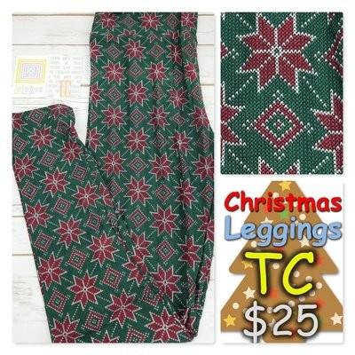 35e1b6ff1855e1 Leggings Tall Curvy (TC) Christmas LuLaRoe