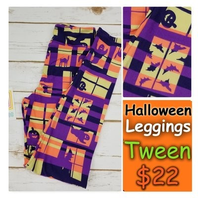 Leggings Kids Adult Tween (Tween) Halloween LuLaRoe Fits Adult Sizes 00-0