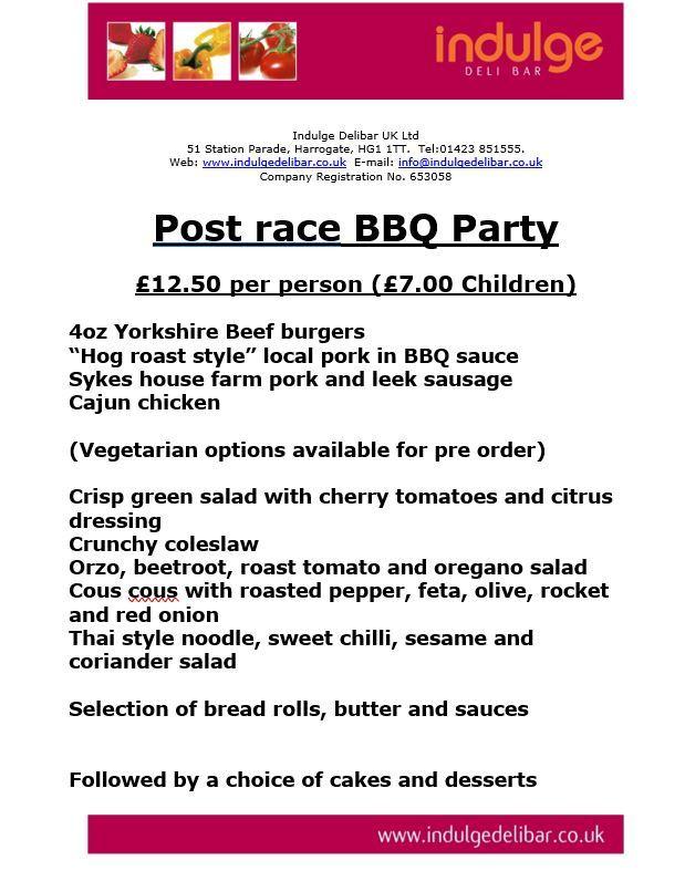 SATURDAY NIGHT BBQ BBQ 2019