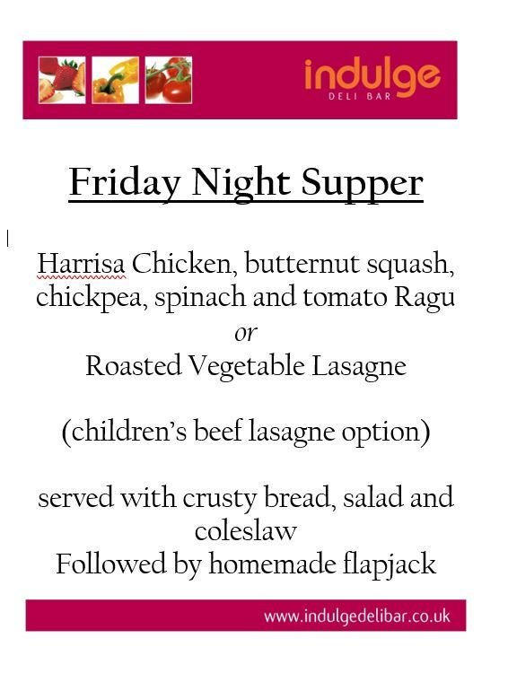 Friday Night Supper 2019 Friday Night Supper 2019