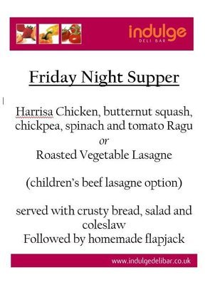 Friday Night Supper 2019