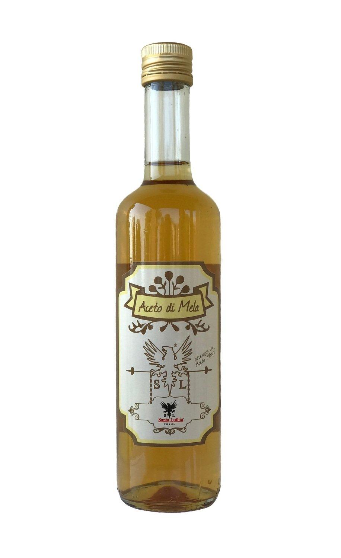Madrura Italian Apple (Cider) Vinegar, mL 500x12 Bottles (fl oz 16,9x12 Bottles)