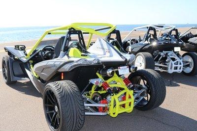 4 Wheel Conversion Kit for the Polaris Slingshot