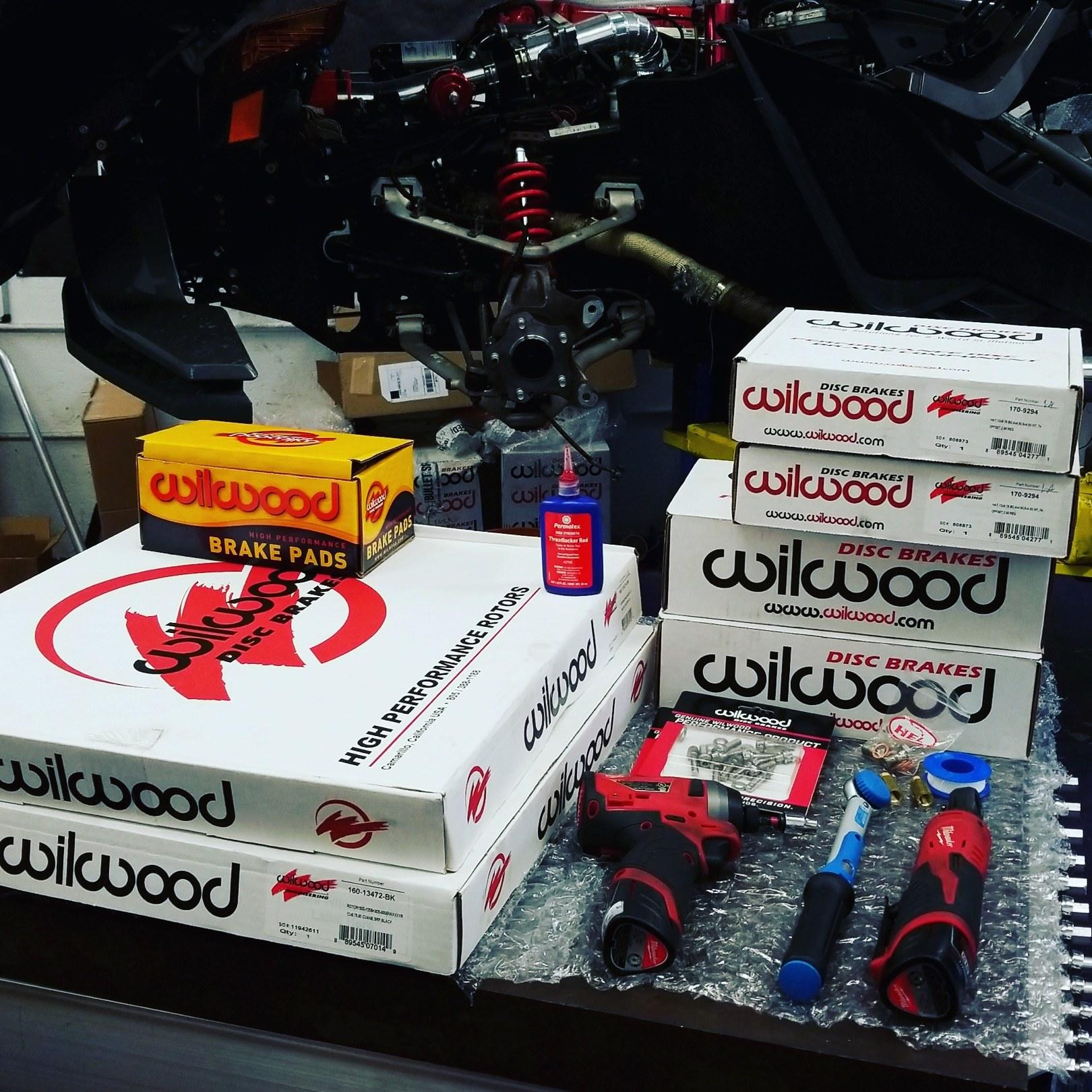 """Wilwood Big-Brake Kit 15"""""""