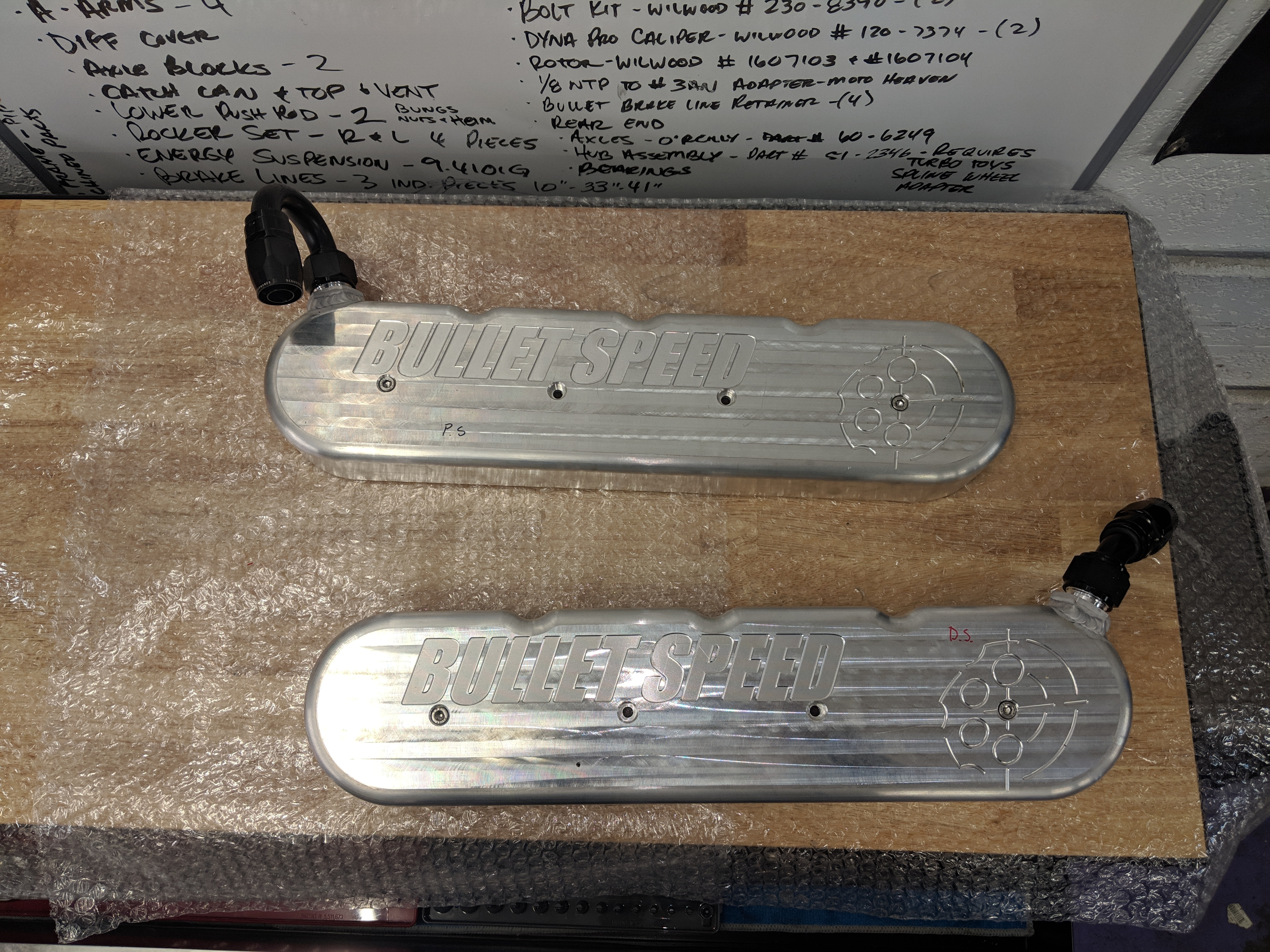 LS Bullet Speed Valve Covers
