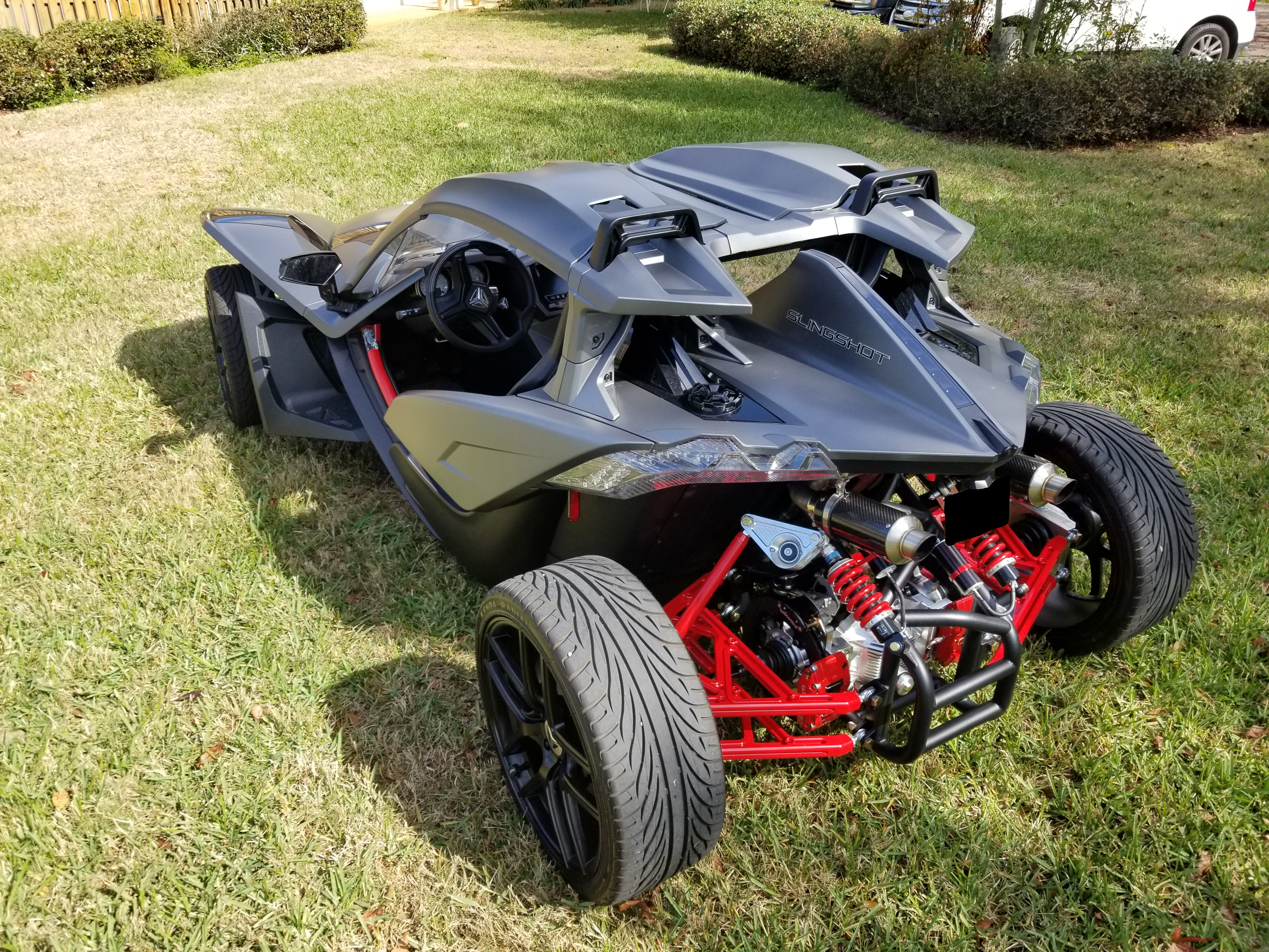 4 Wheel Conversion Kit for the Polaris Slingshot 00006