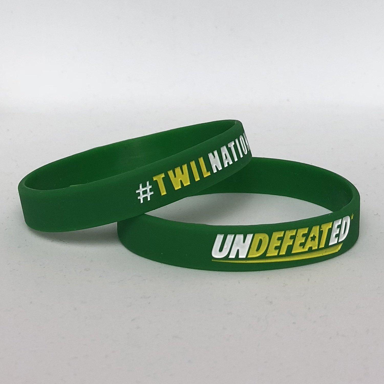 TWILNation Undefeated* Wristband
