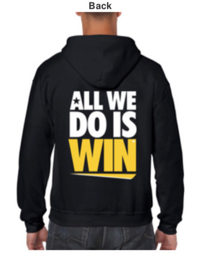 TWIL Undefeated* Hoody (Black)