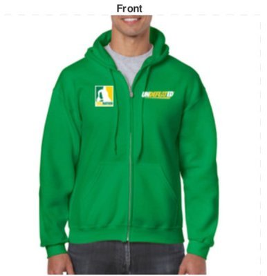 TWIL Undefeated* Hoody (Green)