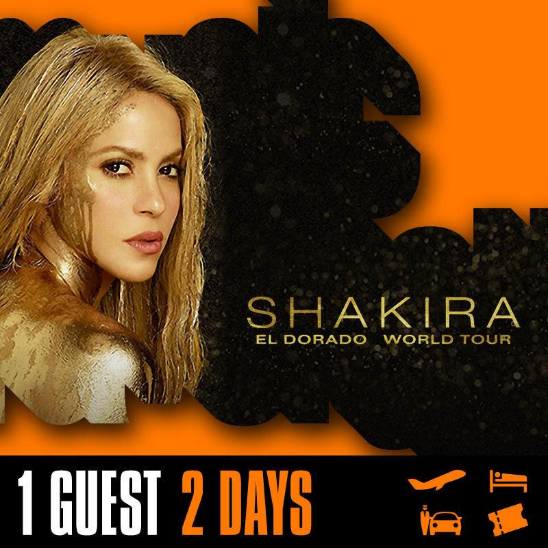 SHAKIRA  | Punta Cana Hard Rock Cafe | 1 pers. | 17/10/2018 to 19/10/2018