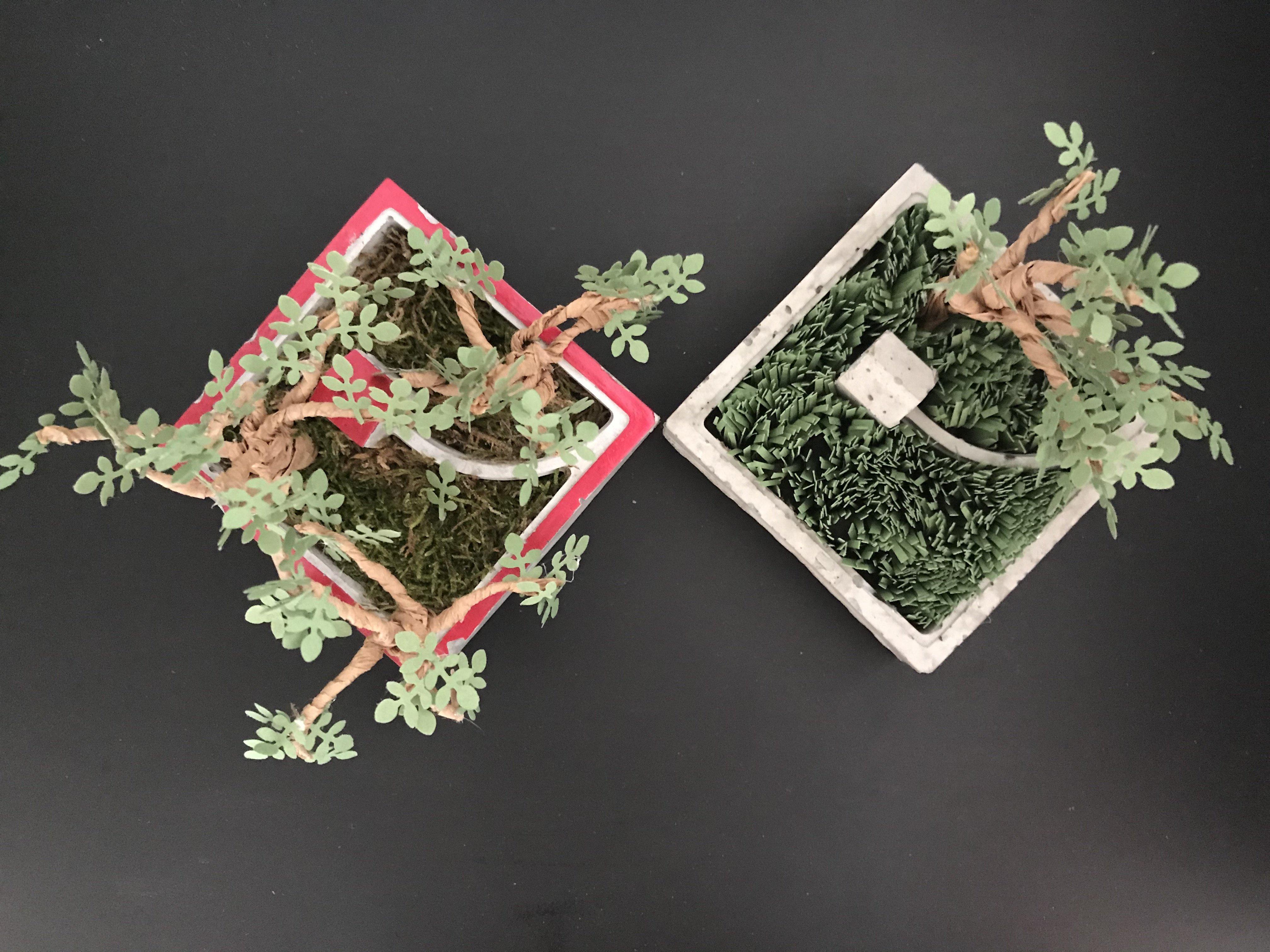 Atelier Jardin miniature en papier - Jeudi 10 janvier - de 20h à 22h.