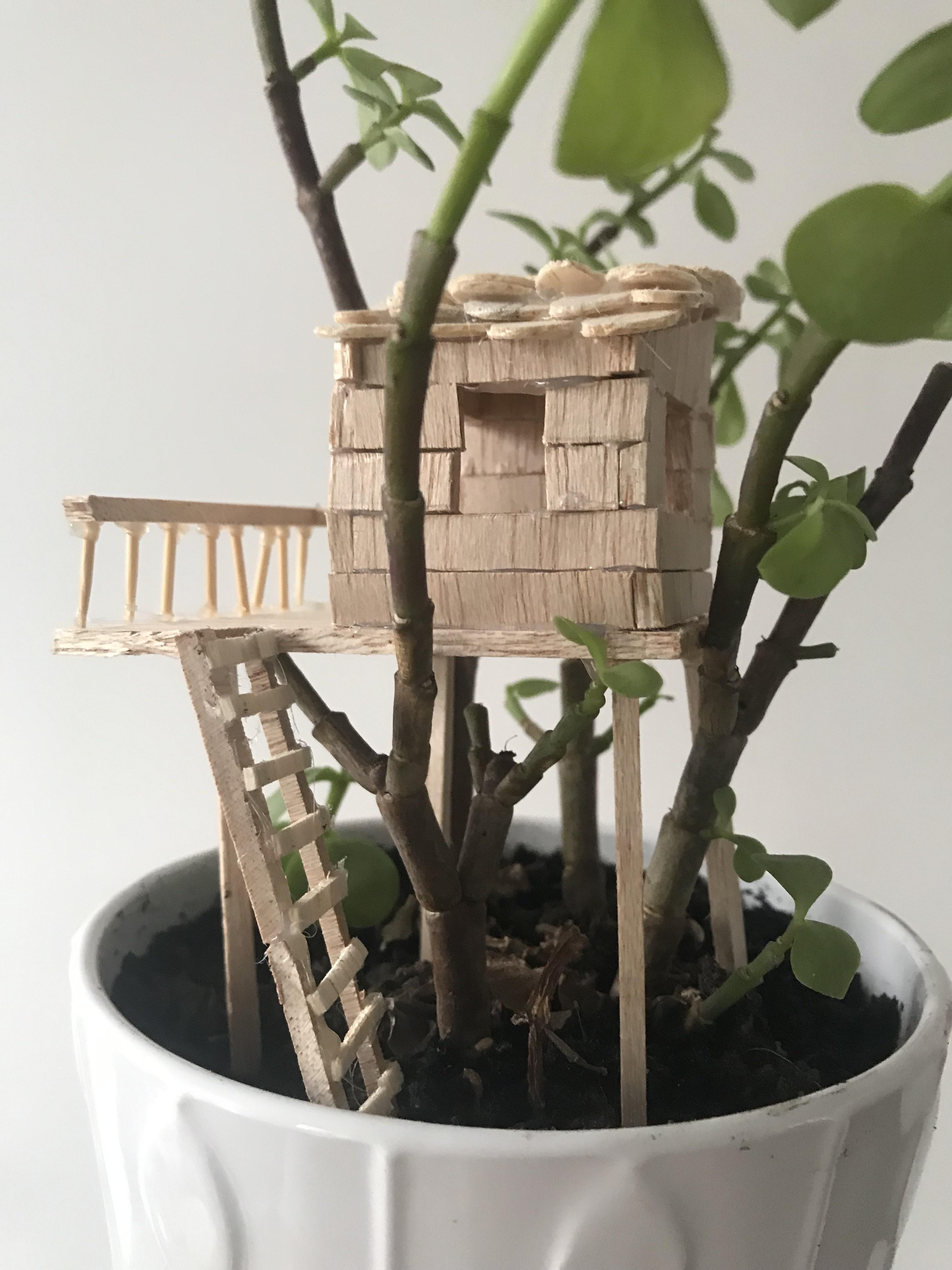 Atelier mini cabane dans les arbres - Samedi 2 février de 10h à 12h