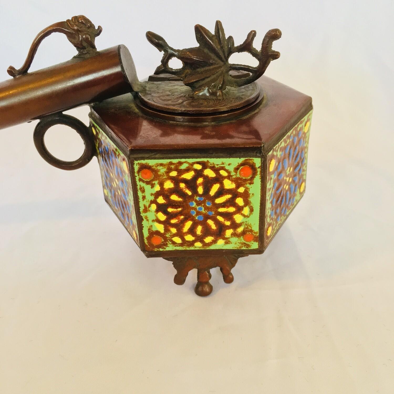 Oriental Bronze Censer Burner #345/2/53
