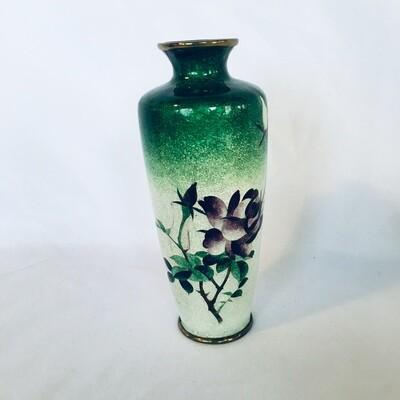 Small Ginbari Cloisonne Vase #345/2-63B