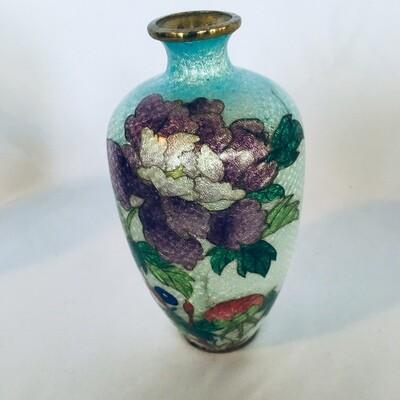 Ginbari Cloisonne Vase