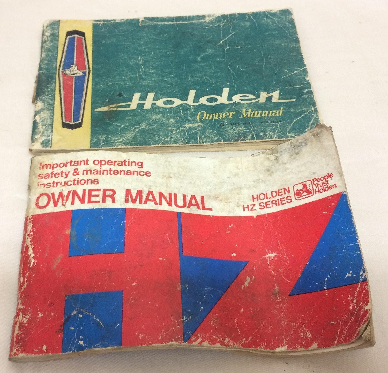 Pair of Holden Manuals #400-17