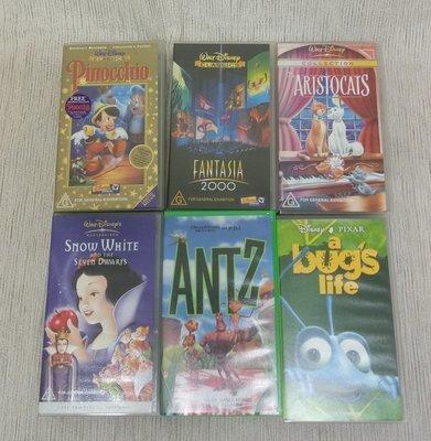 Lot of Disney VHS #400-5