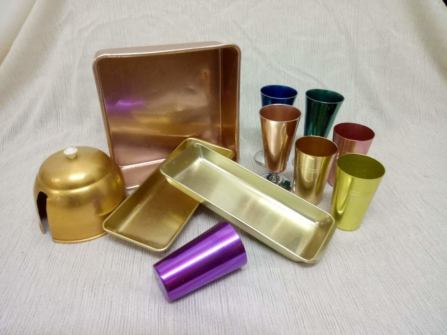 Lot of Anodized Items #400-12