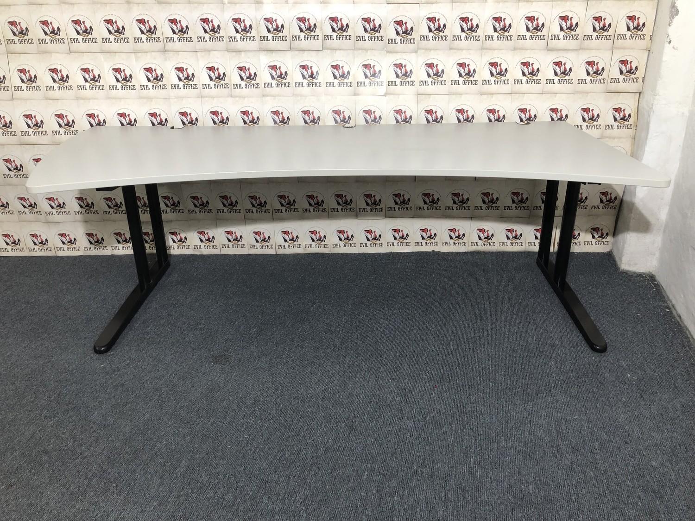 Schreibtisch von König Neurath Metra 220x80-100cm links