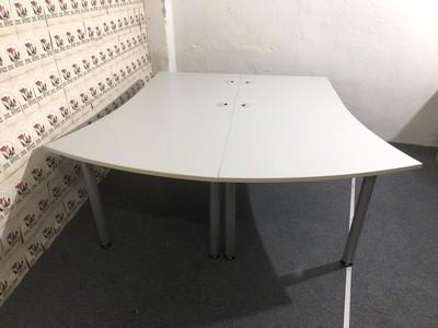 Set 2 St. Schreibtisch von Reiss 200x200-160cm