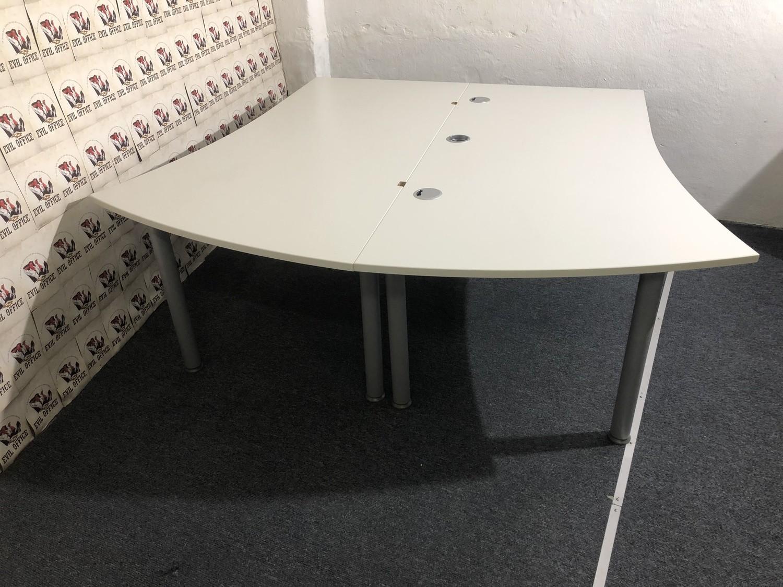 Set 2 St. Schreibtisch von Reiss 180x200-160cm