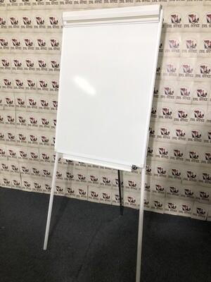 Flipchart Höhenverstellbar von K Media in Weiß