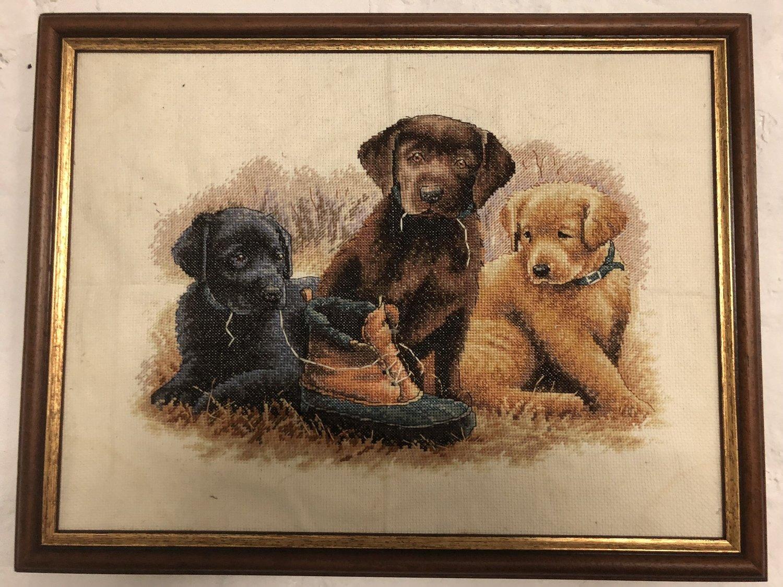 Stickbild Labrador Welpen - Hope Design