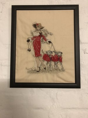 Stickbild Lady Dalmatiner  - Hope Design