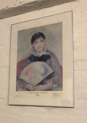 Bild Girl with a Fan - Pierre-Auguste Renoir