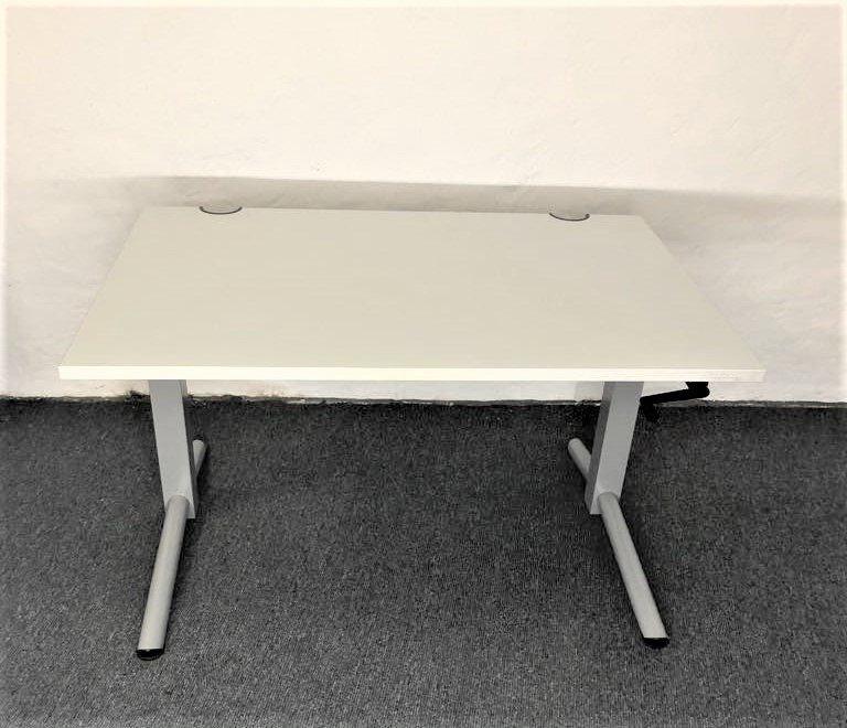 OKA Schreibtisch in Lichtgrau 120er