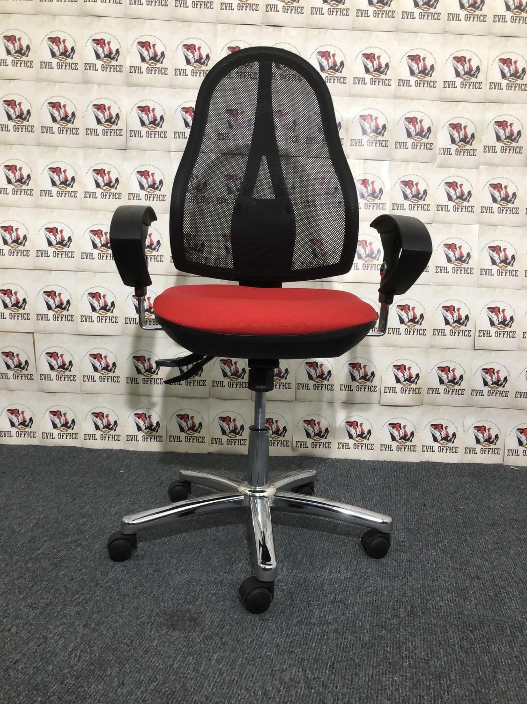 Bürodrehstuhl Topstar Open Point SY Farbe Rot