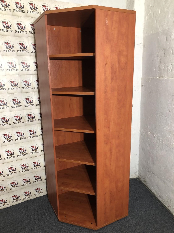 fm Büromöbel Eck Aktenschrank 6 OH in Kirschbaum Schrank Regal