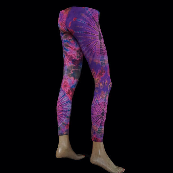 LEGGINGS - Flieder-Pink