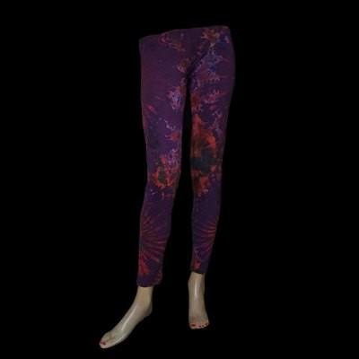 LEGGINGS - Violett-Rot