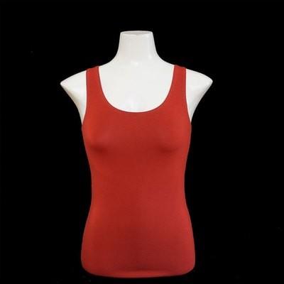Yoga Tank Shirt - Rostbraun
