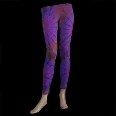 LEGGINGS - Violett-Braun