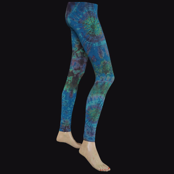 LEGGINGS - Petrol-Grün