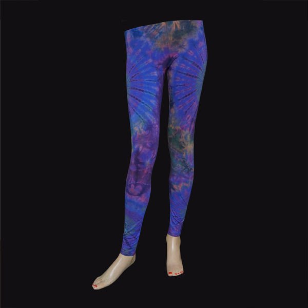 LEGGINGS - Blau-Violett 015