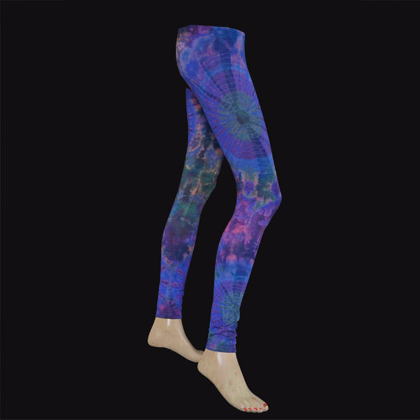 LEGGINGS - Blau-Violett
