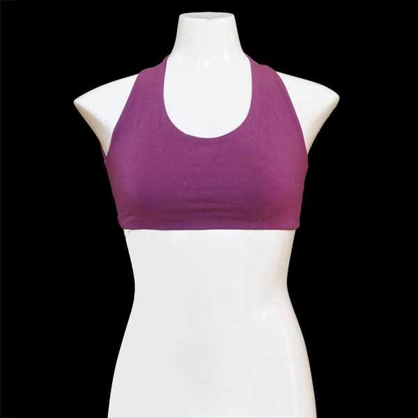 Yoga X-Top Bustier - Violett