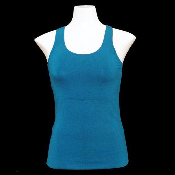 Yoga Tank Shirt - Petrol T006