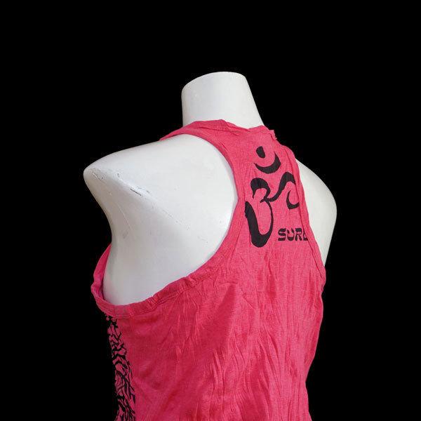 """SURE Tank Shirt  """"Mit Yoga wächst du"""" - Pink"""