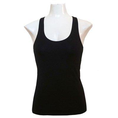 Yoga Tank Shirt - Schwarz