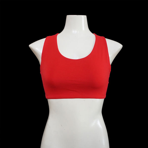 Yoga X-Top Bustier - Rot
