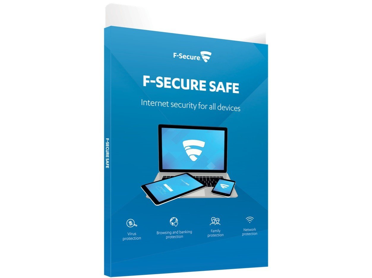 F-SECURE SAFE ATTACH (1YEAR 1 DEVICE)