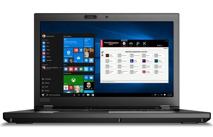 ThinkPad P52 Nvidia Quadro P1000 4GB