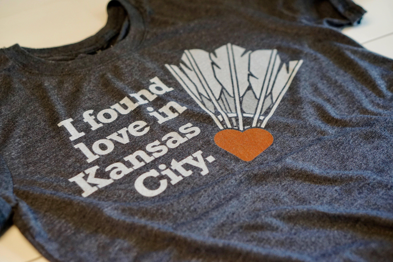 Kansas City Shuttlecock Tee