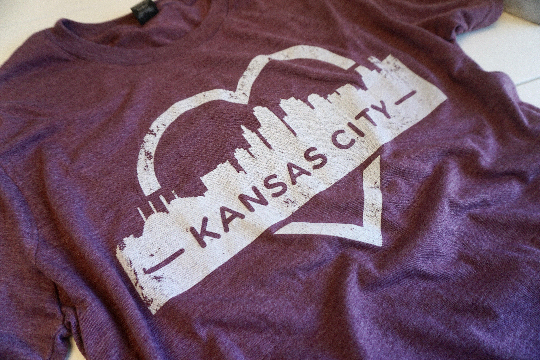 Kansas City Heart Tee